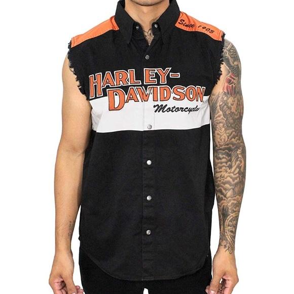 ccd7e1e0be5 Harley-Davidson Other - Harley-Davidson Men s Sleeveless Shirt Size Large